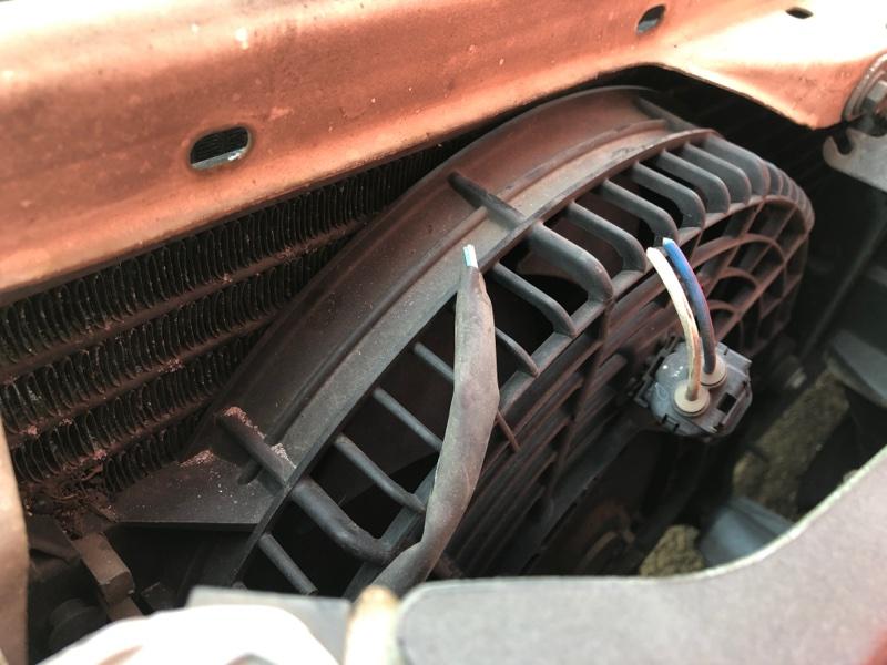 Радиатор кондиционера Toyota Corolla AE110 5A-FE 1998