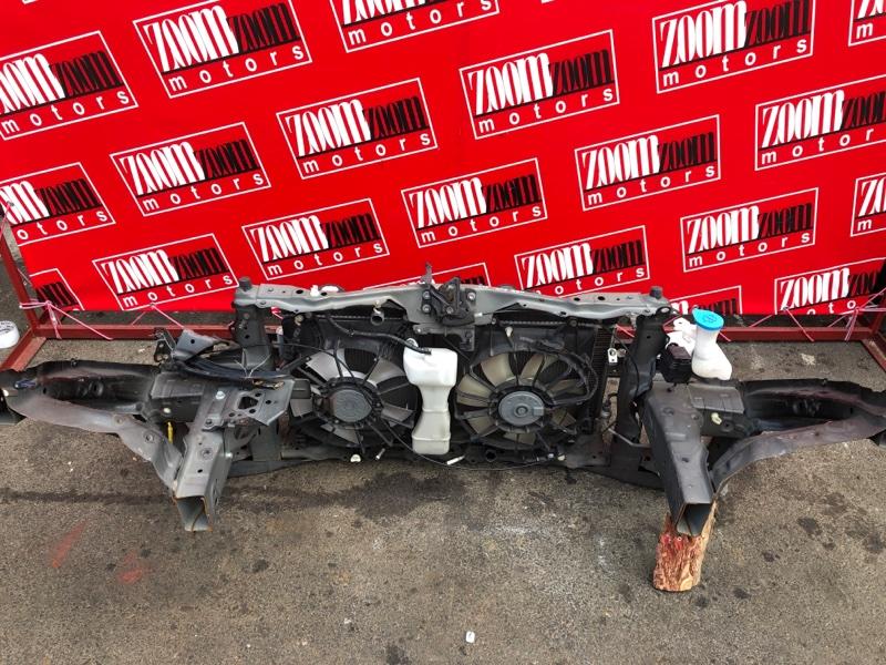 Рамка радиатора Honda Fit GE6 L13A 2007 черный