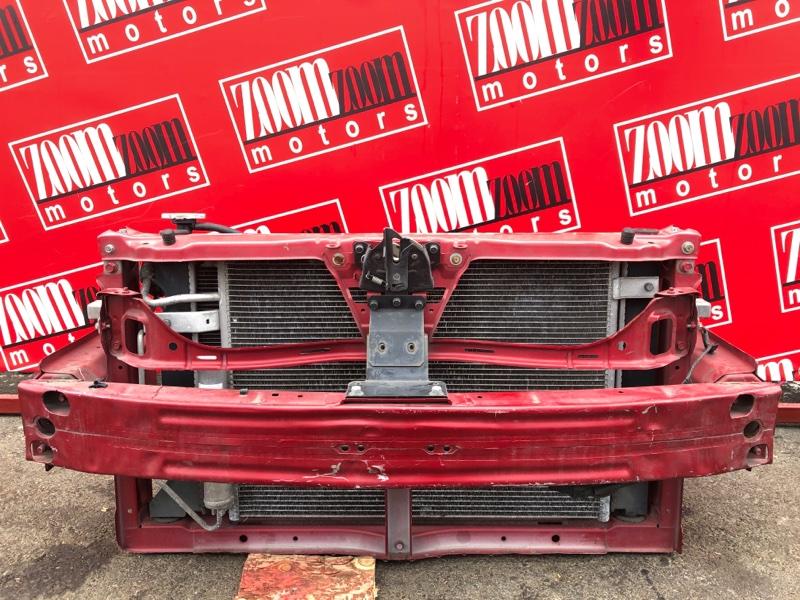 Рамка радиатора Mitsubishi Colt Z21A 4A90 2004 красный