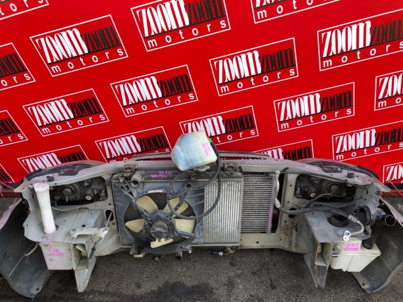Рамка радиатора Suzuki Cultus GC21S G15A 1997 серебро