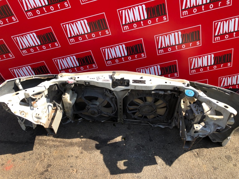 Рамка радиатора Honda Fit GD1 L13A 2001 белый перламутр