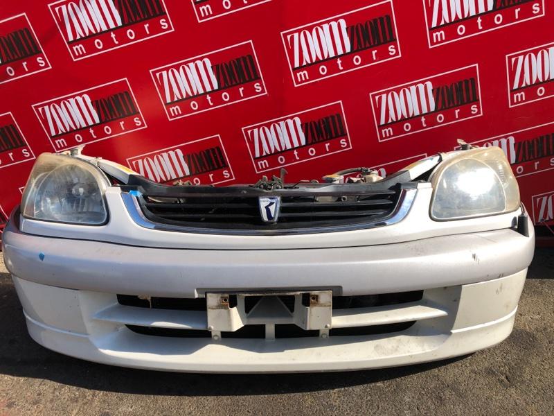 Nose cut Toyota Raum EXZ10 5E-FE 1999 белый перламутр