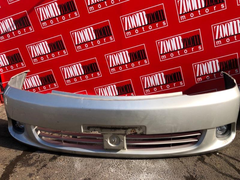 Бампер Toyota Allion ZZT240 1ZZ-FE `2001 передний серебро
