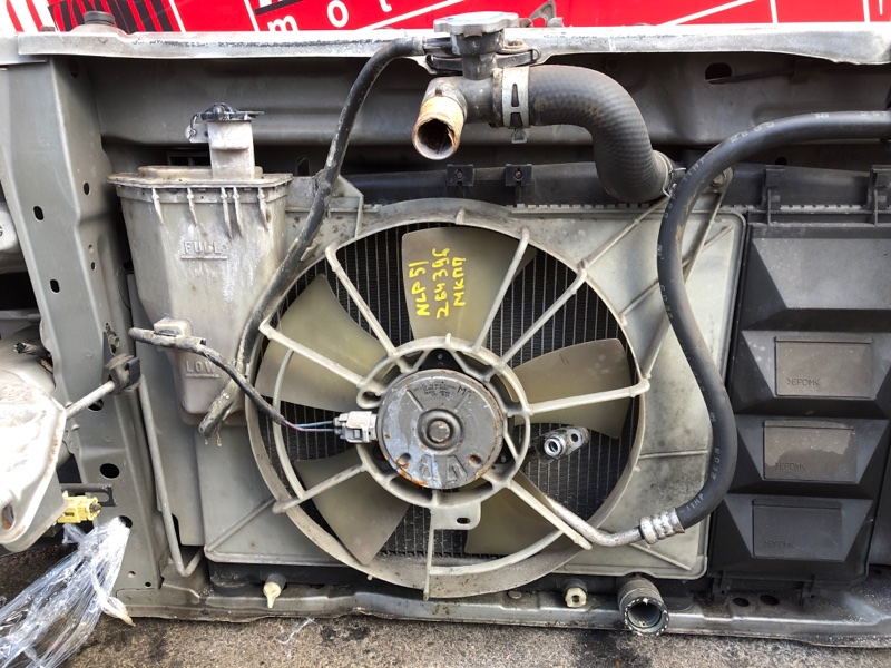 Радиатор двигателя Toyota Succeed NLP51V 1ND-TV 2002