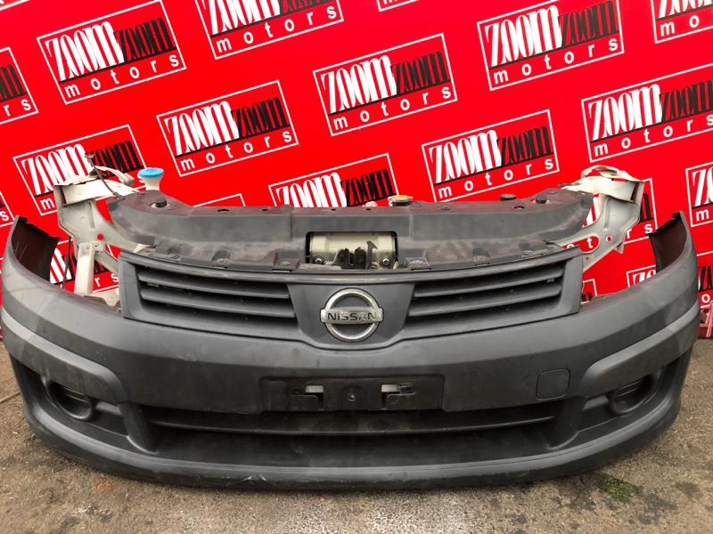 Бампер Nissan Ad VAY12 CR12DE 2006 передний черный