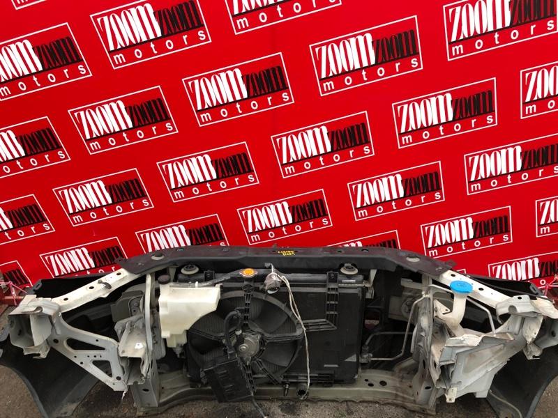 Рамка радиатора Nissan Ad VAY12 CR12DE 2006 белый