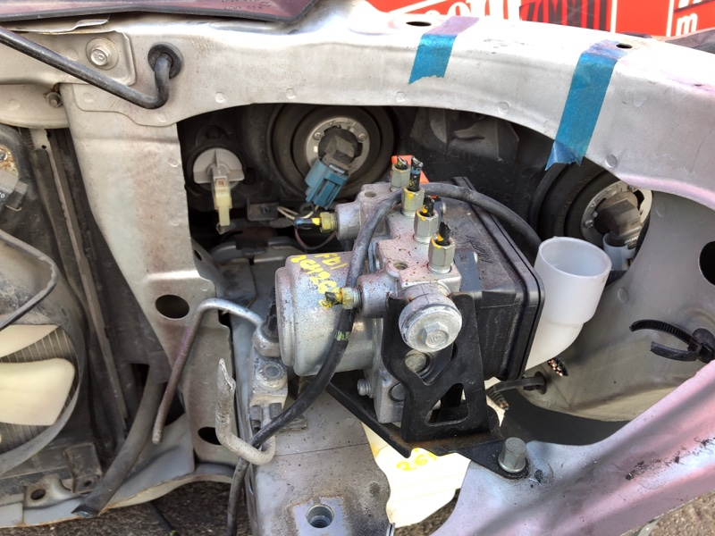 Блок abs (модулятор abs) Honda Civic FD1 R18A 2005