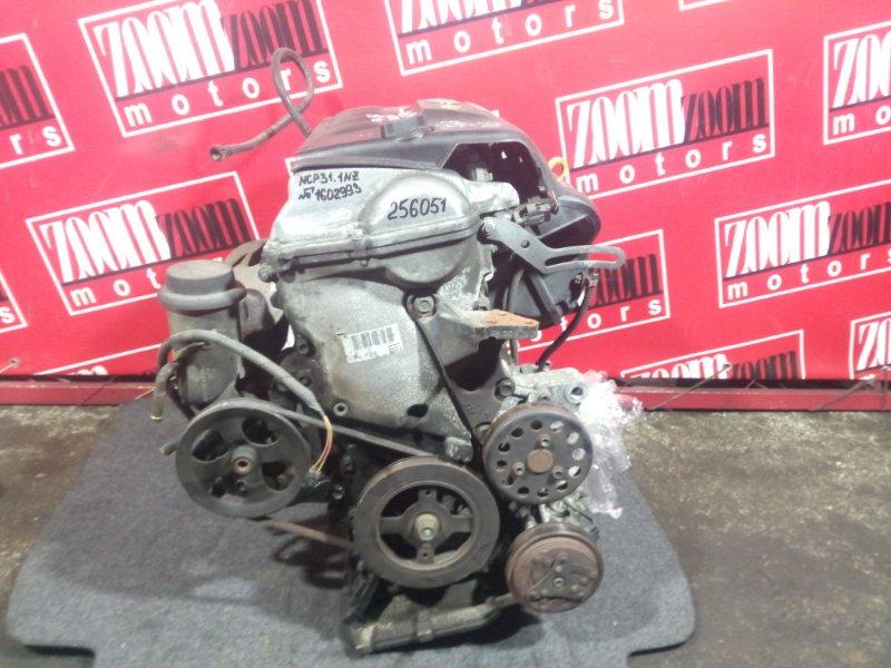 Двигатель Toyota Bb NCP31 1NZ-FE 2000 1602993