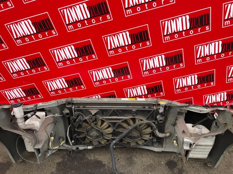 Рамка радиатора Toyota Prius NHW11 1NZ-FXE 2000 серебро