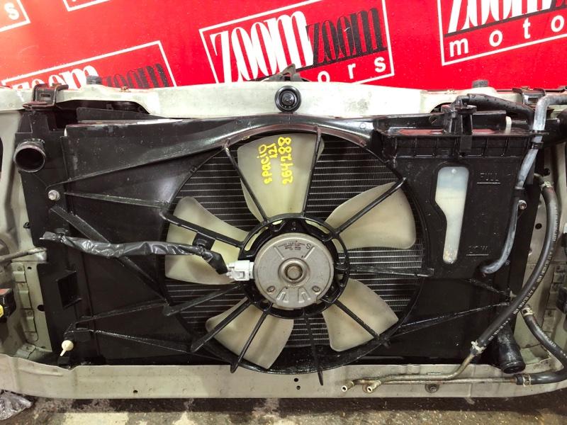 Радиатор двигателя Toyota Corolla Spacio NZE121N 1NZ-FE 2001