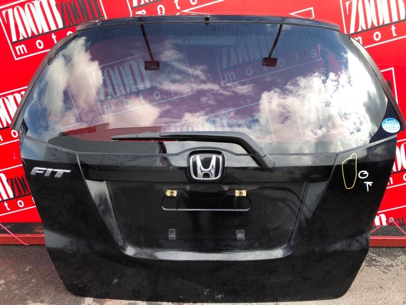 Дверь задняя багажника Honda Fit GE6 L13A 2007 черный