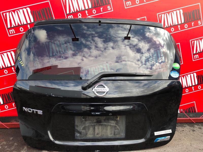 Дверь задняя багажника Nissan Note E12 HR12DE 2012 черный