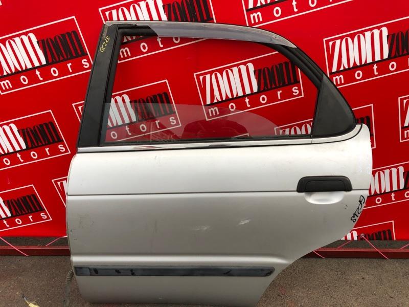 Дверь боковая Suzuki Cultus GC21S G15A 1997 задняя левая серебро