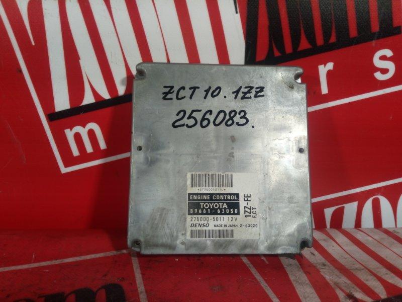 Компьютер (блок управления) Toyota Opa ZCT10 1ZZ-FE 2000 89661-63050 27500