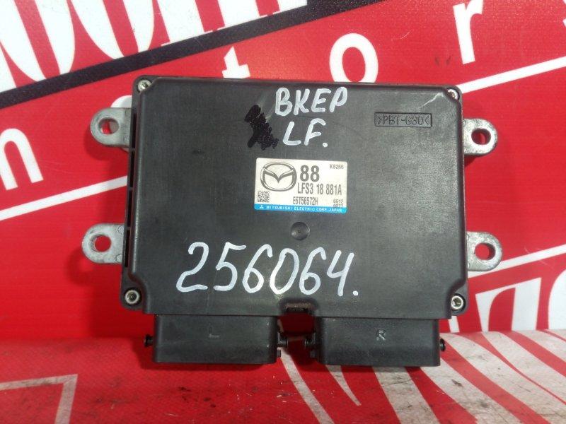 Компьютер (блок управления) Mazda Axela BKEP LF-DE 2002 LFS318881A