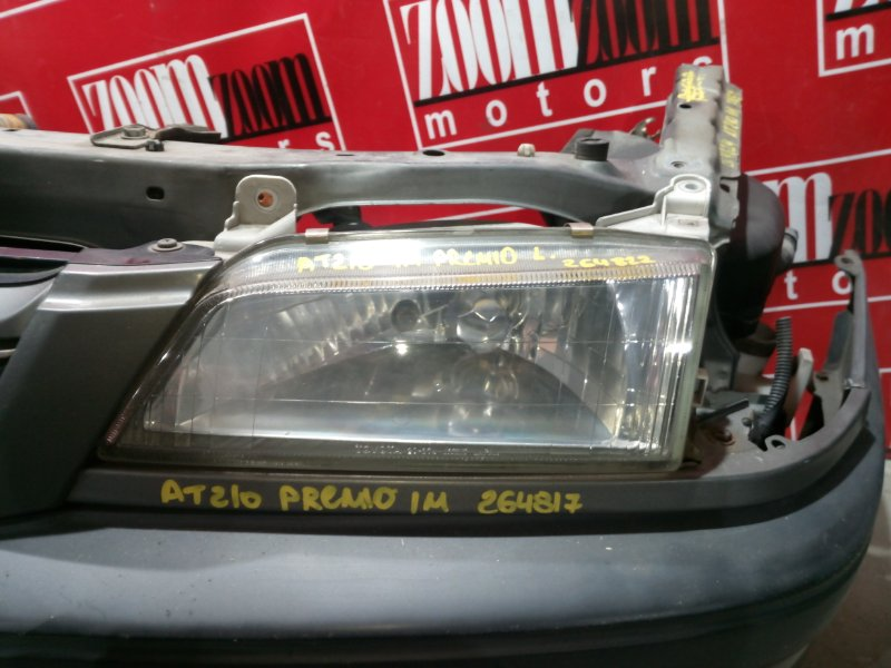 Планка под фару Toyota Corona Premio AT210 4A-FE 1996 передняя левая серый