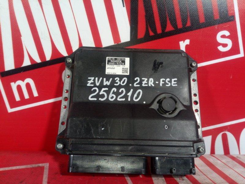 Компьютер (блок управления) Toyota Prius ZVW30 2ZR-FXE 2009 89661-47270 275300-7384