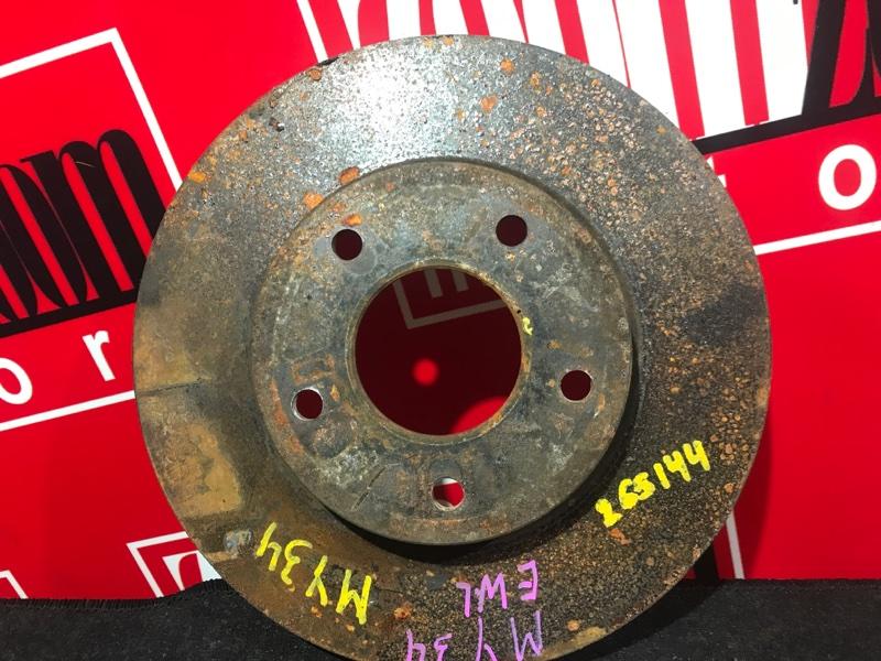 Диск тормозной Nissan Cedric MY34 VQ25DD 1999 передний