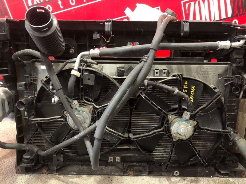 Радиатор двигателя Mazda Axela BL5FW ZY-VE 2009