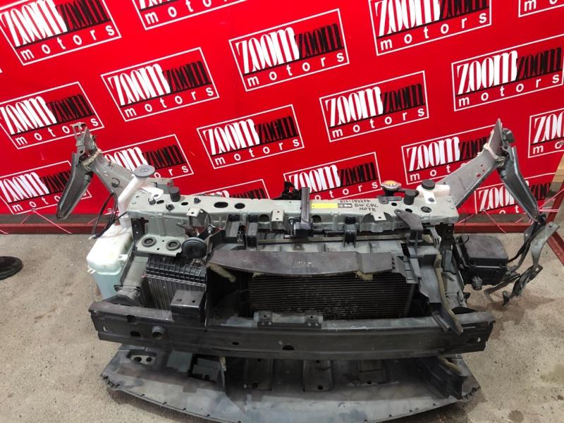 Рамка радиатора Nissan Note E12 HR12DDR 2012 серый