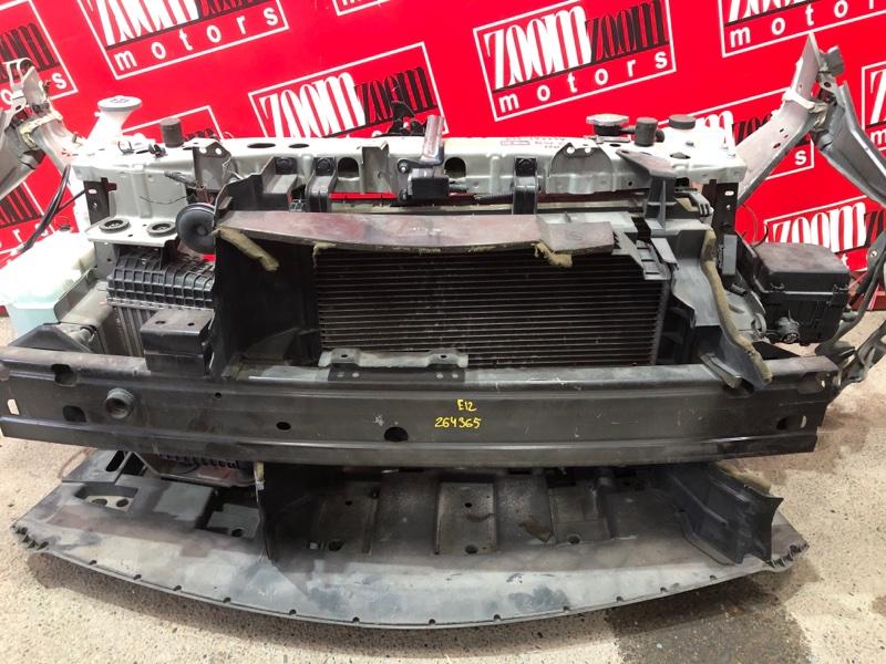 Усилитель бампера Nissan Note E12 HR12DDR 2012 передний