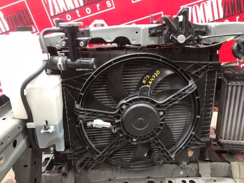 Радиатор двигателя Nissan Note E12 HR12DDR 2012
