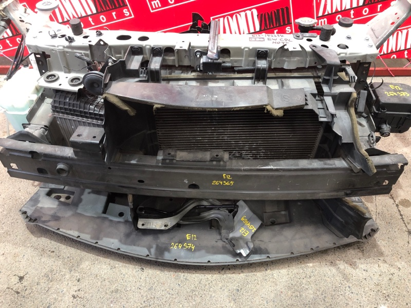 Защита двс Nissan Note E12 HR12DDR 2012