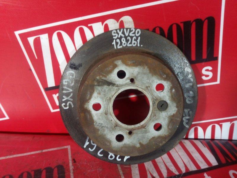 Диск тормозной Toyota Mark Ii Qualis SXV20 5S-FE задний