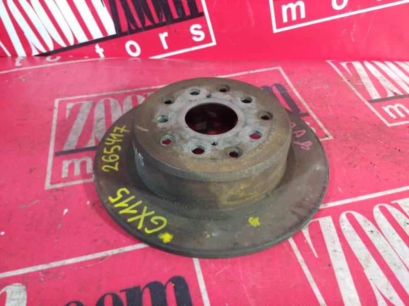 Диск тормозной Toyota Mark Ii GX115 1G-FE 2001 задний