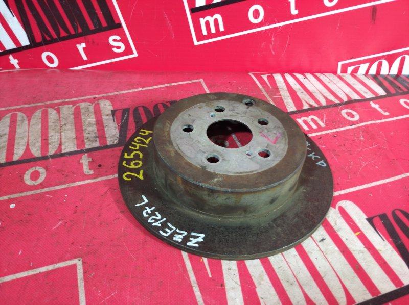 Диск тормозной Toyota Will Vs ZZE127 1ZZ-FE 2001 задний