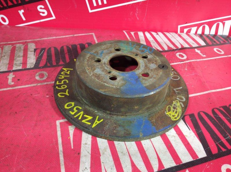 Диск тормозной Toyota Vista Ardeo AZV50 1AZ-FSE 1998 задний