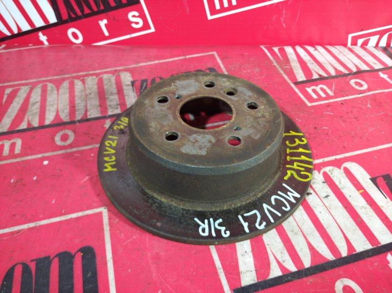 Диск тормозной Toyota Camry Gracia MCV21 2MZ-FE 2001 задний