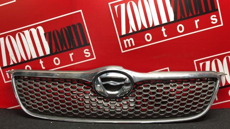 Решетка радиатора Toyota Corolla Fielder ZZE122 1ZZ-FE 2000 хром