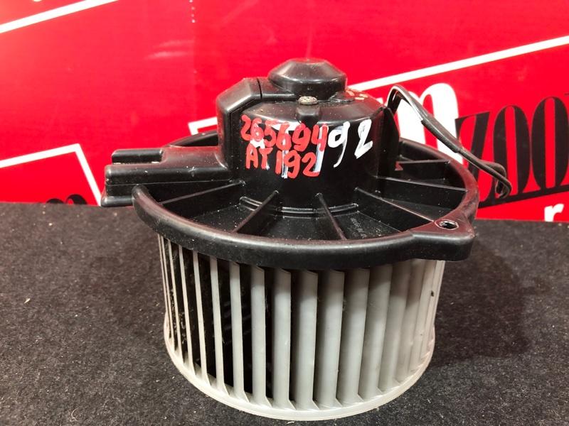 Вентилятор (мотор отопителя) Toyota Carina AT192 5A-FE 1992
