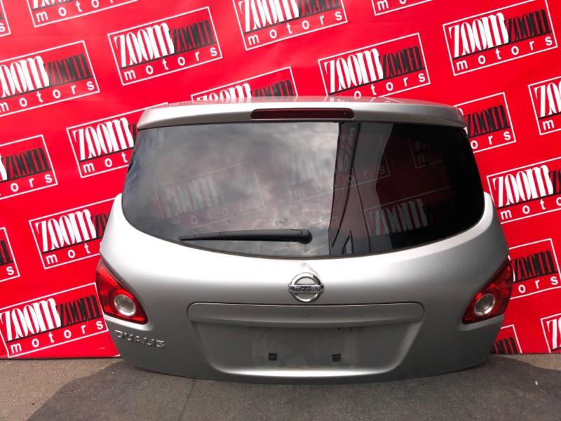 Дверь задняя багажника Nissan Dualis J10 MR20DE 2007 серебро
