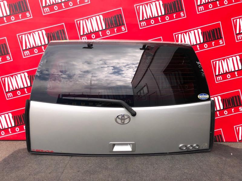 Дверь задняя багажника Toyota Opa ZCT10 1ZZ-FE 2000 серебро