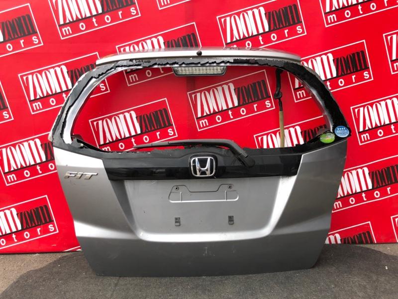 Дверь задняя багажника Honda Fit GE6 L13A 2007 темно-серый