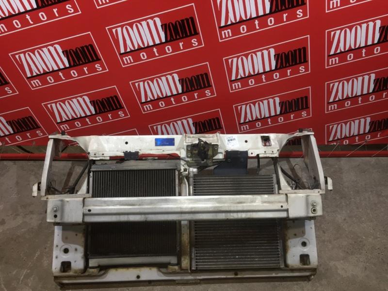 Рамка радиатора Honda Capa GA4 D15B 1998 передняя белый