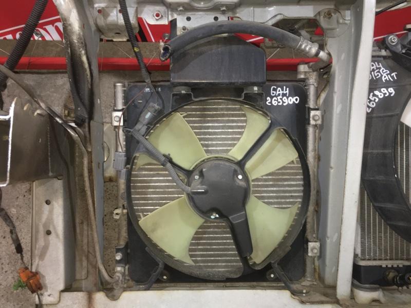 Радиатор кондиционера Honda Capa GA4 D15B 1998 передний