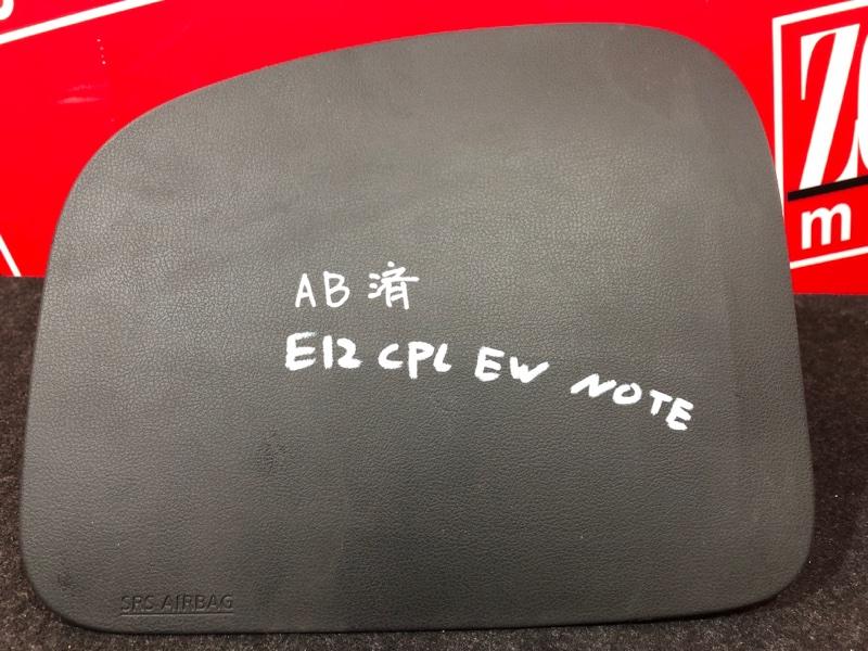 Аирбаг Nissan Note E12 HR12DDR 2012 черный