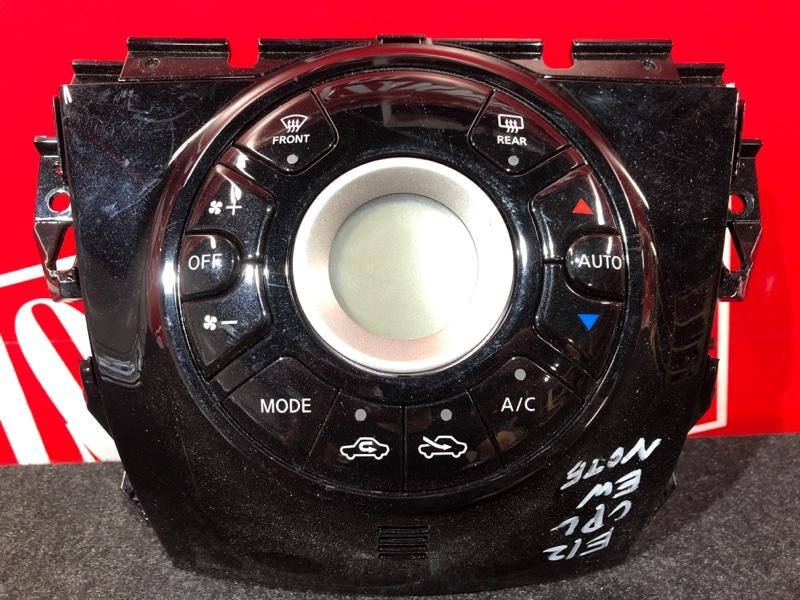 Блок управления отоплением и вентиляцией Nissan Note E12 HR12DDR 2012