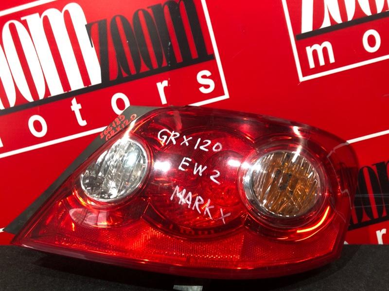 Фонарь (стоп-сигнал) Toyota Mark X GRX120 4GR-FSE 2004 задний правый 22-333