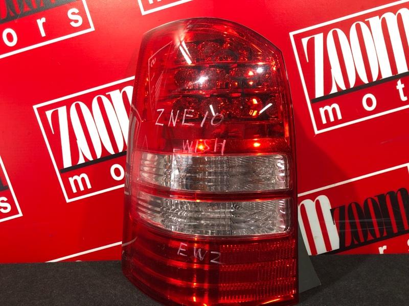 Фонарь (стоп-сигнал) Toyota Wish ZNE10G 1ZZ-FE 2003 задний левый 68-3