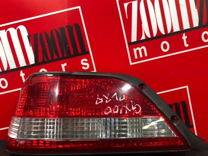 Фонарь (стоп-сигнал) Toyota Cresta GX100 1G-FE 1996 задний левый 22-261