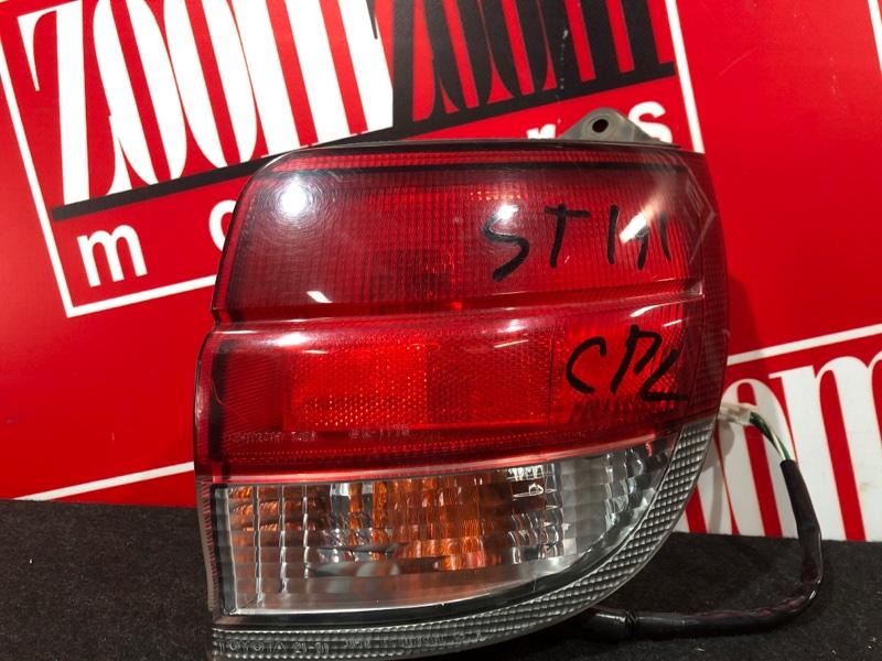 Фонарь (стоп-сигнал) Toyota Caldina ST191G 3S-FE 1992 задний правый 21-31