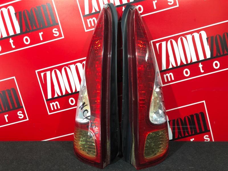 Фонарь (стоп-сигнал) Toyota Funcargo NCP20 2NZ-FE 2003 задний