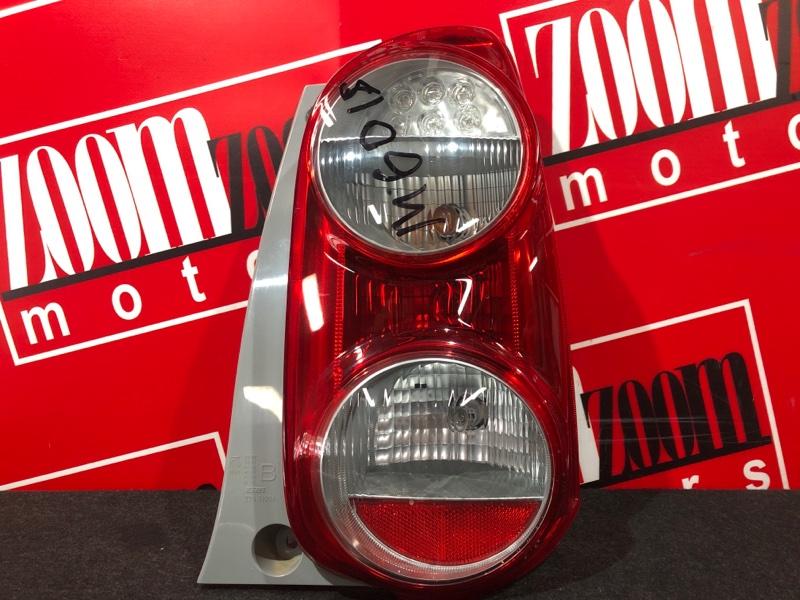Фонарь (стоп-сигнал) Toyota Passo KGC30 1KR-FE 2010 задний правый 220-51004