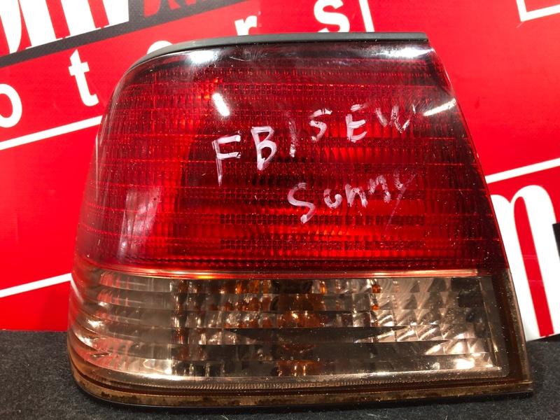 Фонарь (стоп-сигнал) Nissan Sunny FB15 QG15DE 2002 задний левый 4845