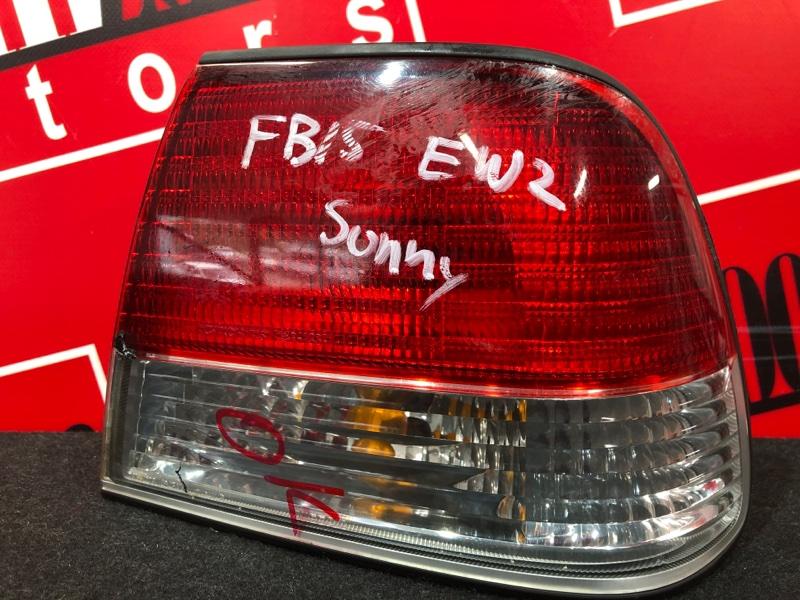 Фонарь (стоп-сигнал) Nissan Sunny FB15 QG15DE 2002 задний правый 4845