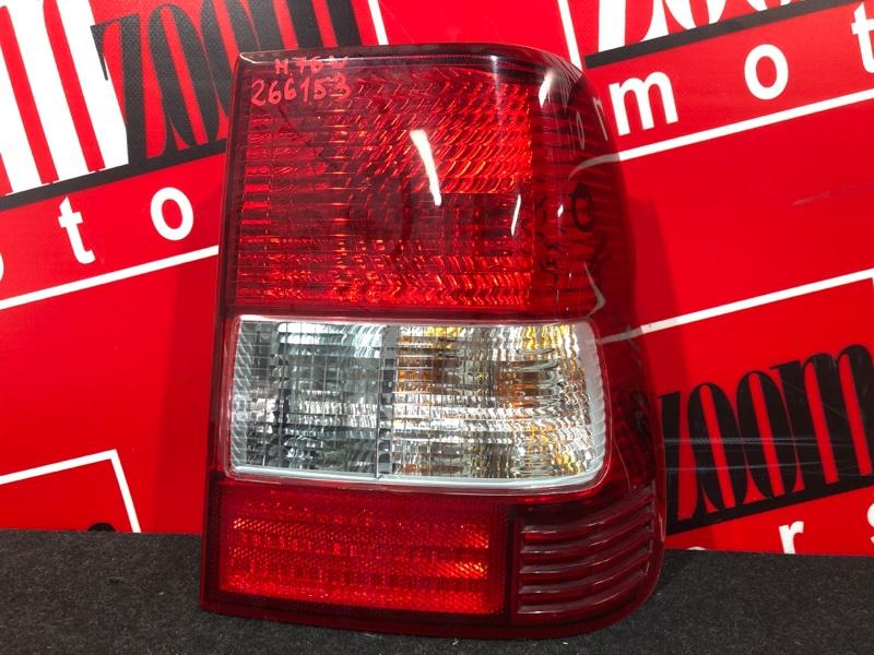 Фонарь (стоп-сигнал) Mitsubishi Pajero Io H76W 4G93 1998 задний правый 13-17